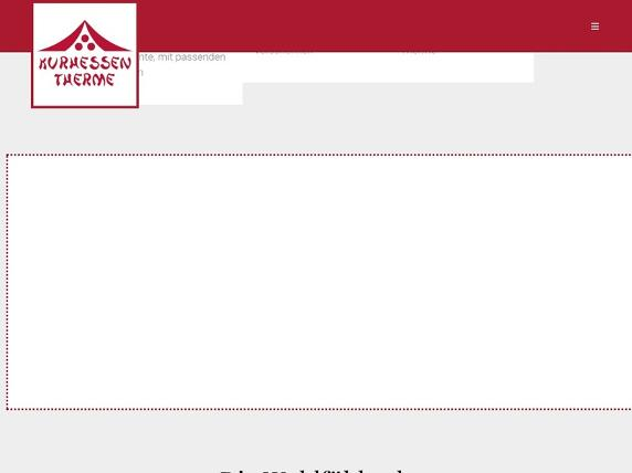 Screenshot von http://www.kurhessen-therme.de/